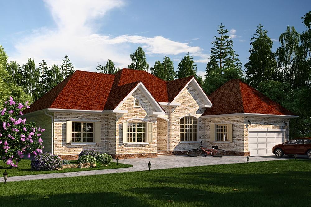 Отделка фасада частного дома: какой вариант лучше