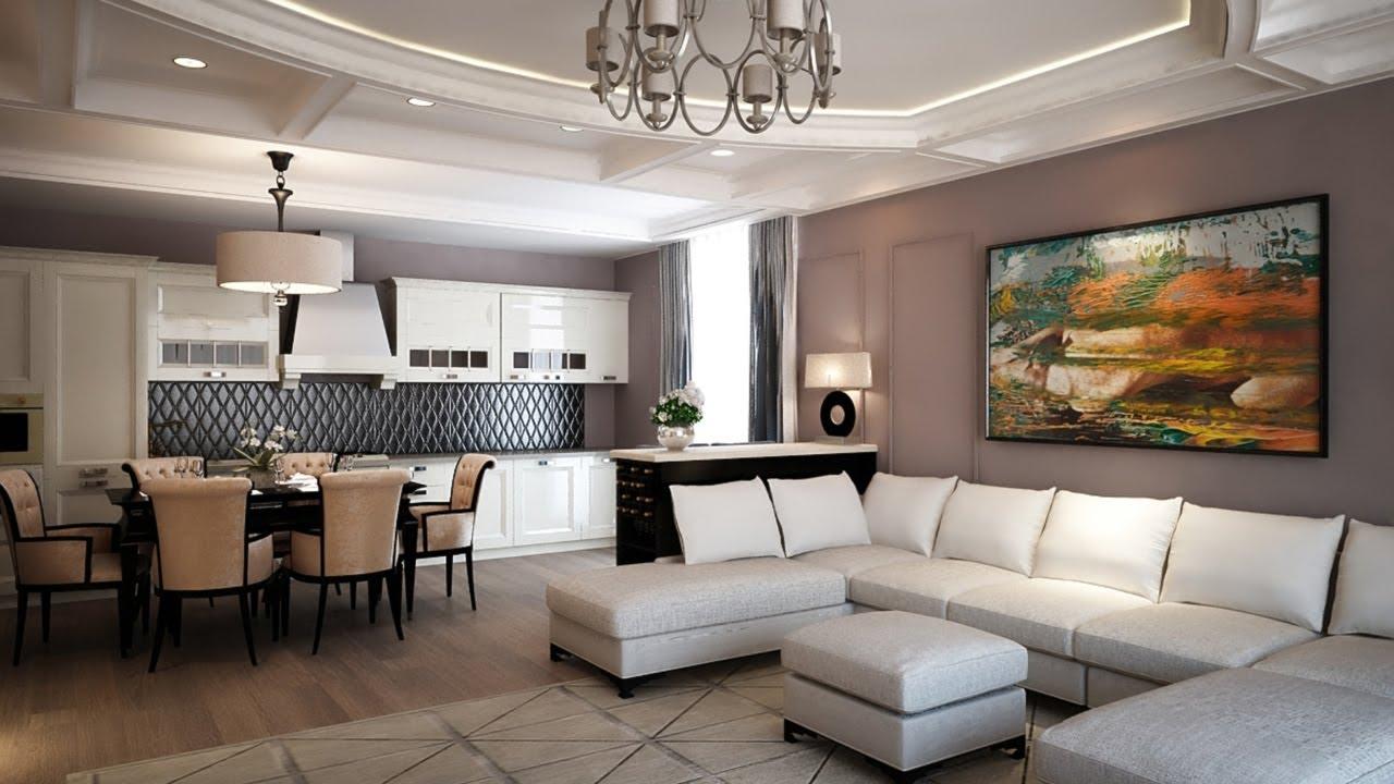 Правильный подбор мебели для квартиры в современном стиле