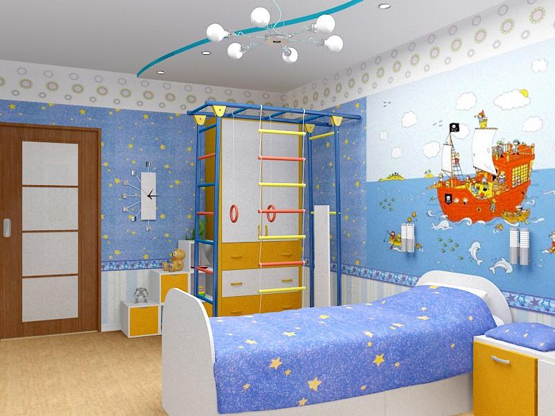 Фотообои в детскую комнату для мальчиков