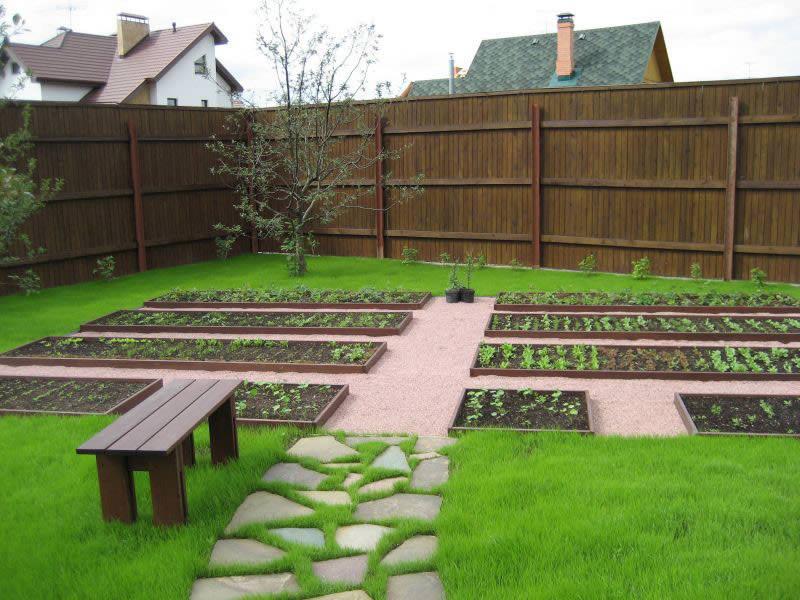 Обустройство садово-огородного участка