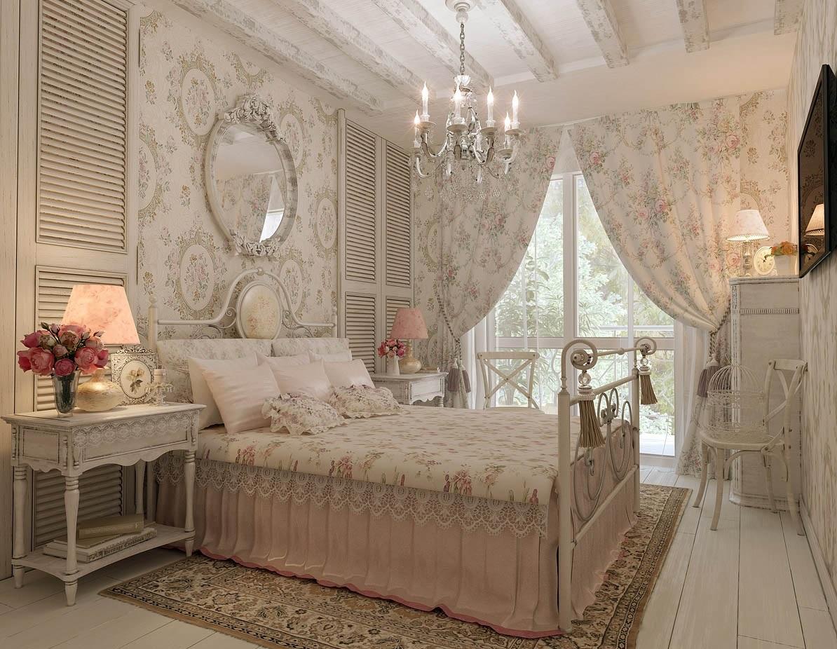 Светлые оттенки спальни