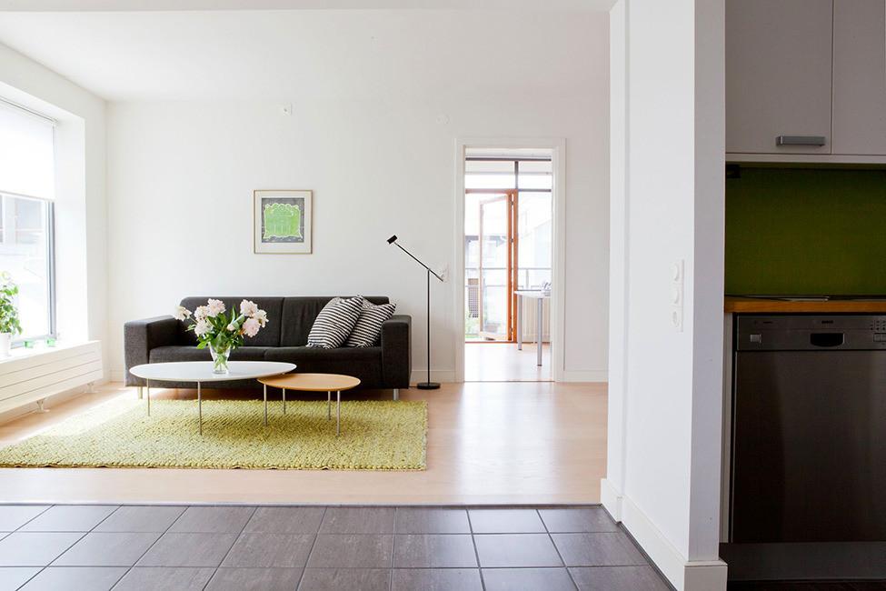 Отсутствие лишних деталей в интерьере квартиры