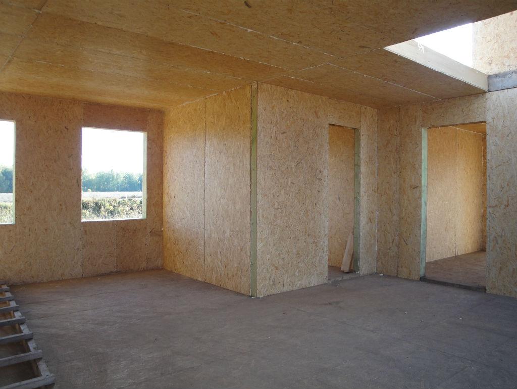 Внутренняя отделка дома из СИП панелей