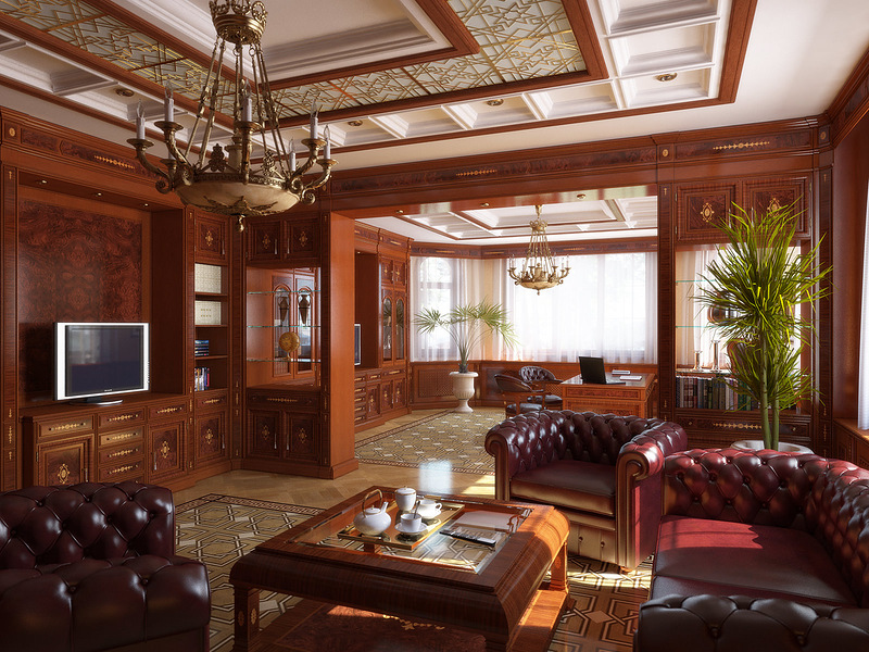 Дизайн интерьера квартиры в коричневых оттенках