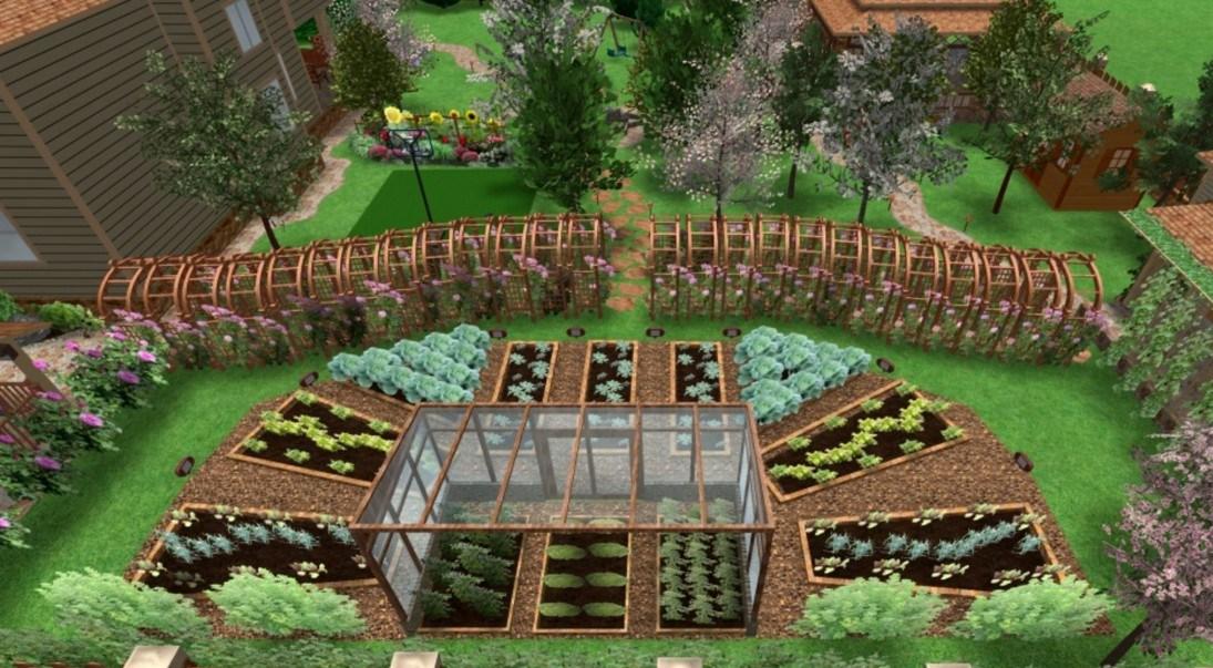 Проектирование дизайна садового участка