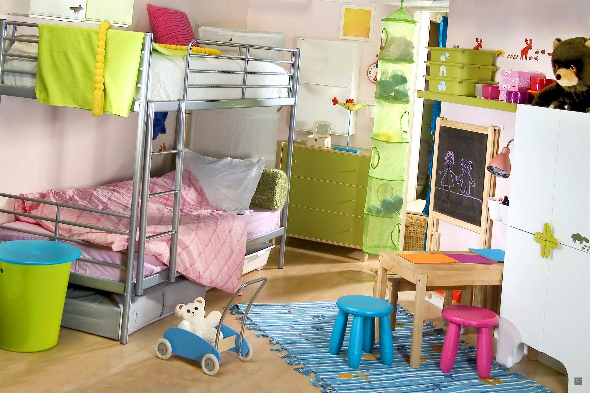 Дизайн детской комнаты для маленьких
