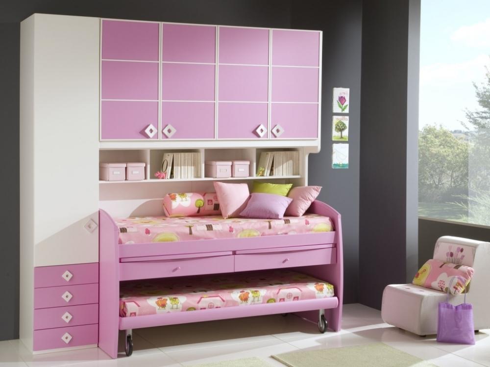 Мебель для экономии места в детской комнате