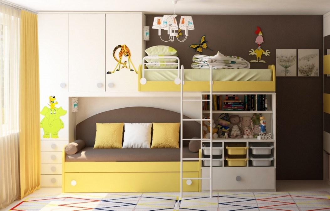 Солнечная комната для мальчиков