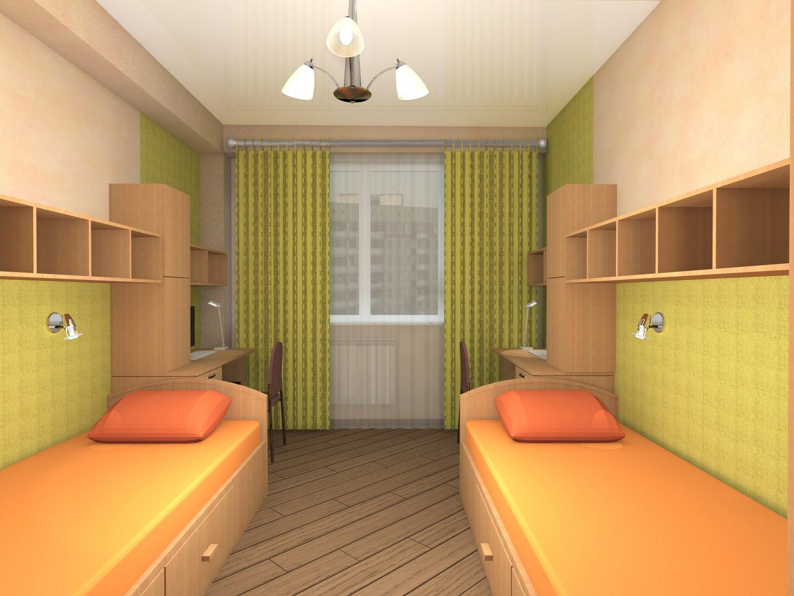 Простой стиль оформления детской комнаты для девочек