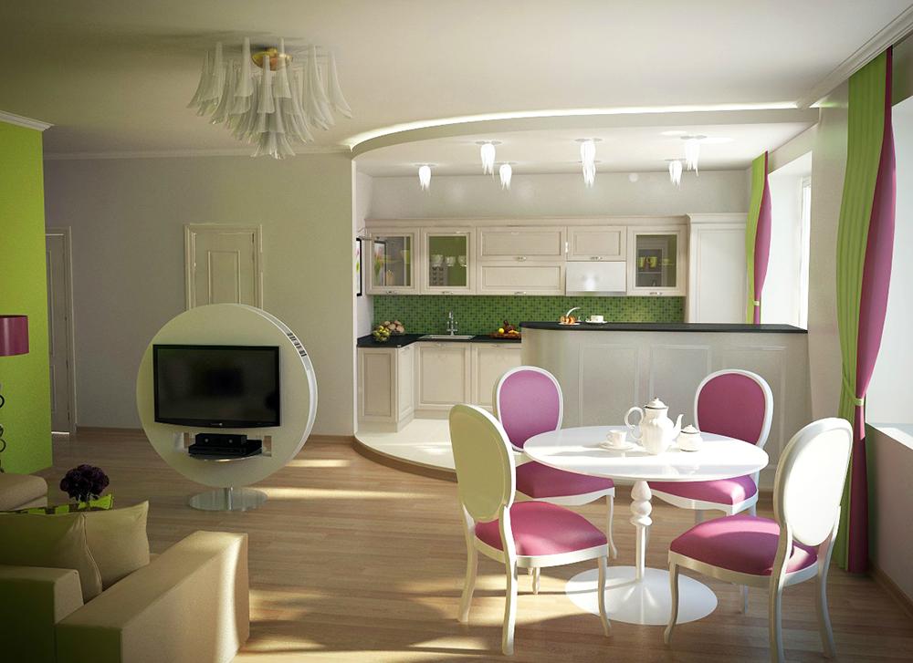 Использование ламината в интерьере маленькой квартиры