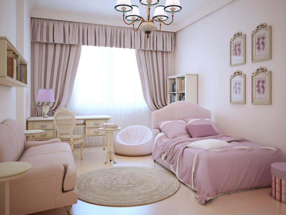 Дизайн комнаты для девушки в стиле прованс