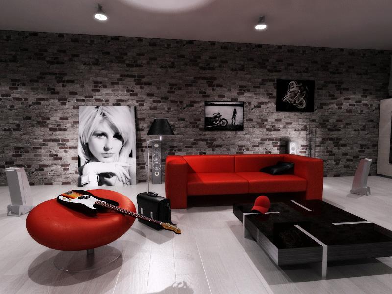 Дизайн интерьера квартиры-студии в стиле минимализм