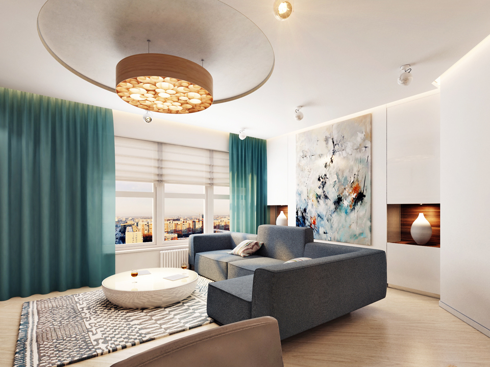 Светлые тона в интерьере квартиры