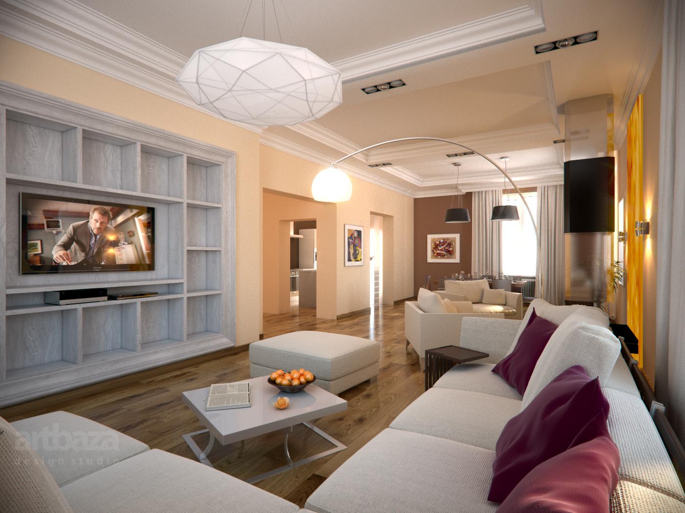 Качественное освещение в интерьере комнаты