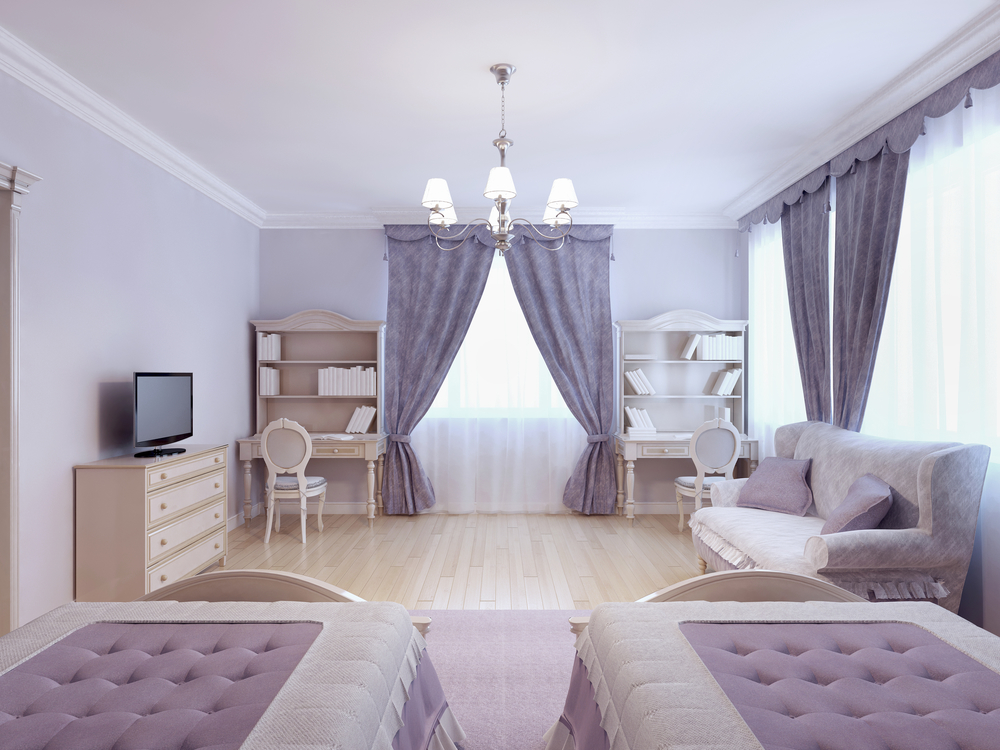 Дизайн комнаты для девочки-подростка в стиле прованс