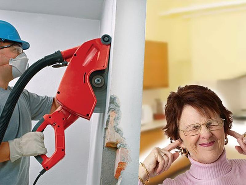 Жалобы соседей на шум при ремонте