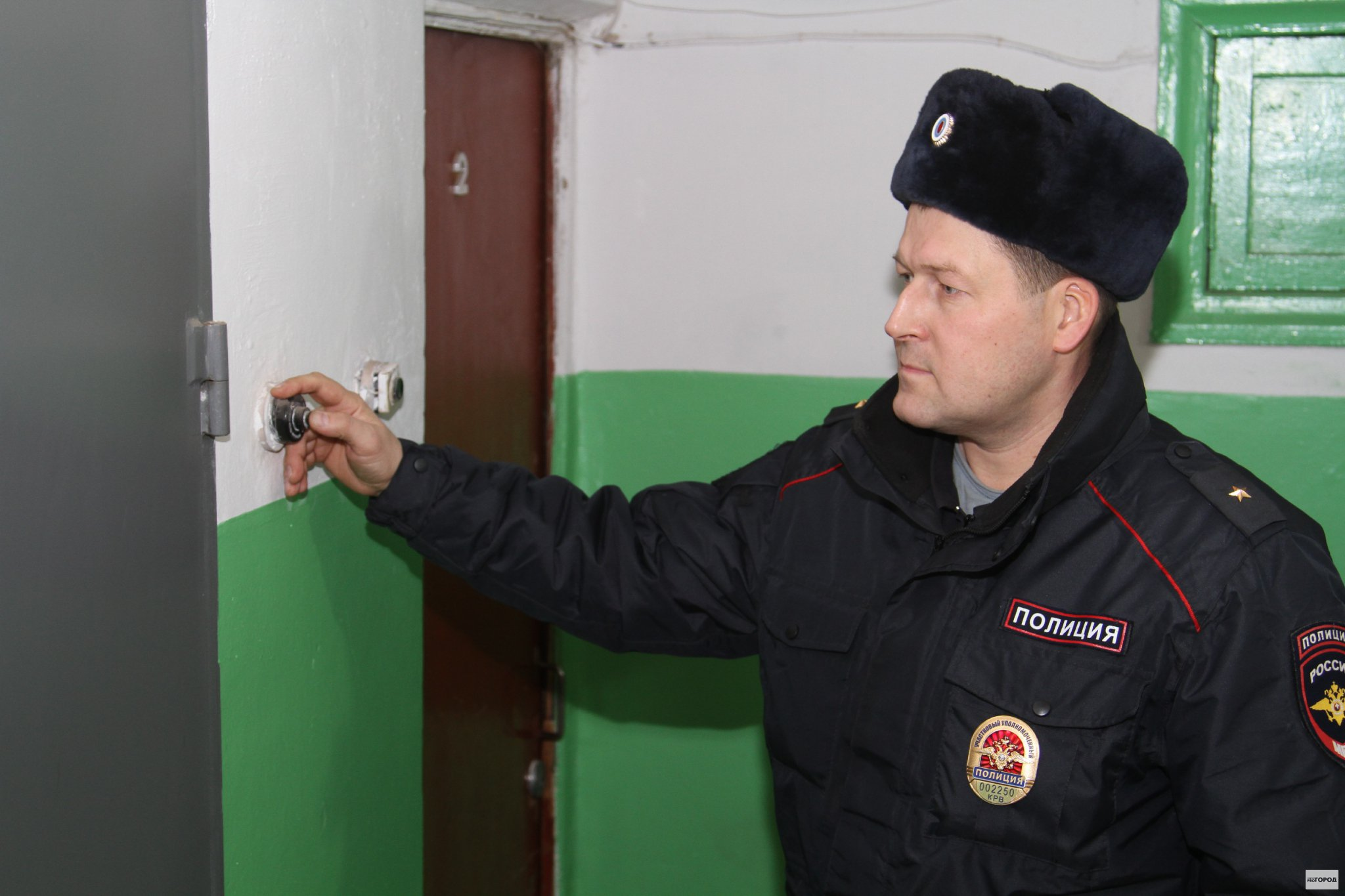 Посещение полиции при несоблюдении правил проведения ремонта