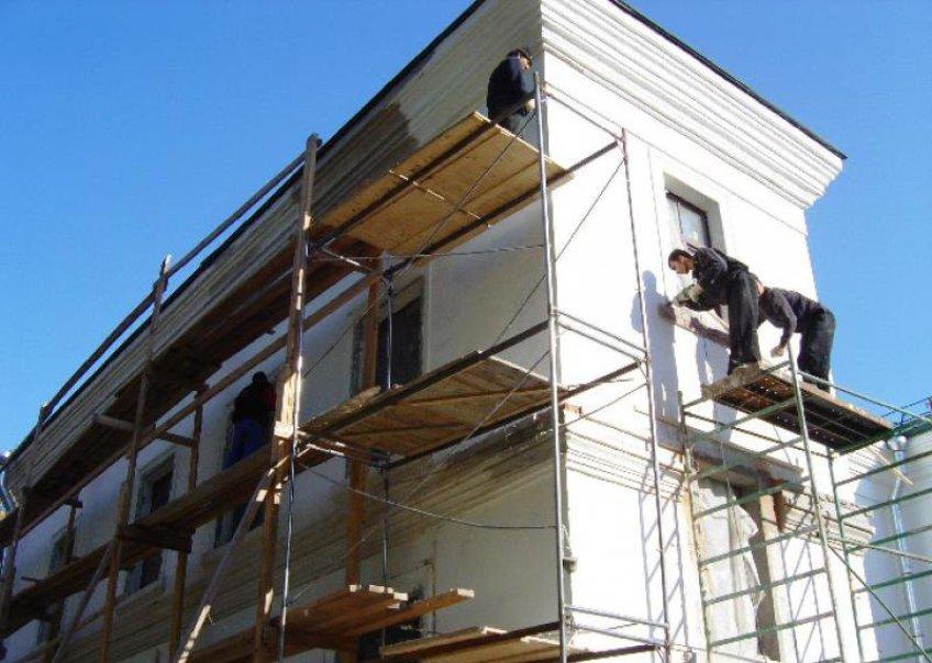 Ремонт фасада жилого дома