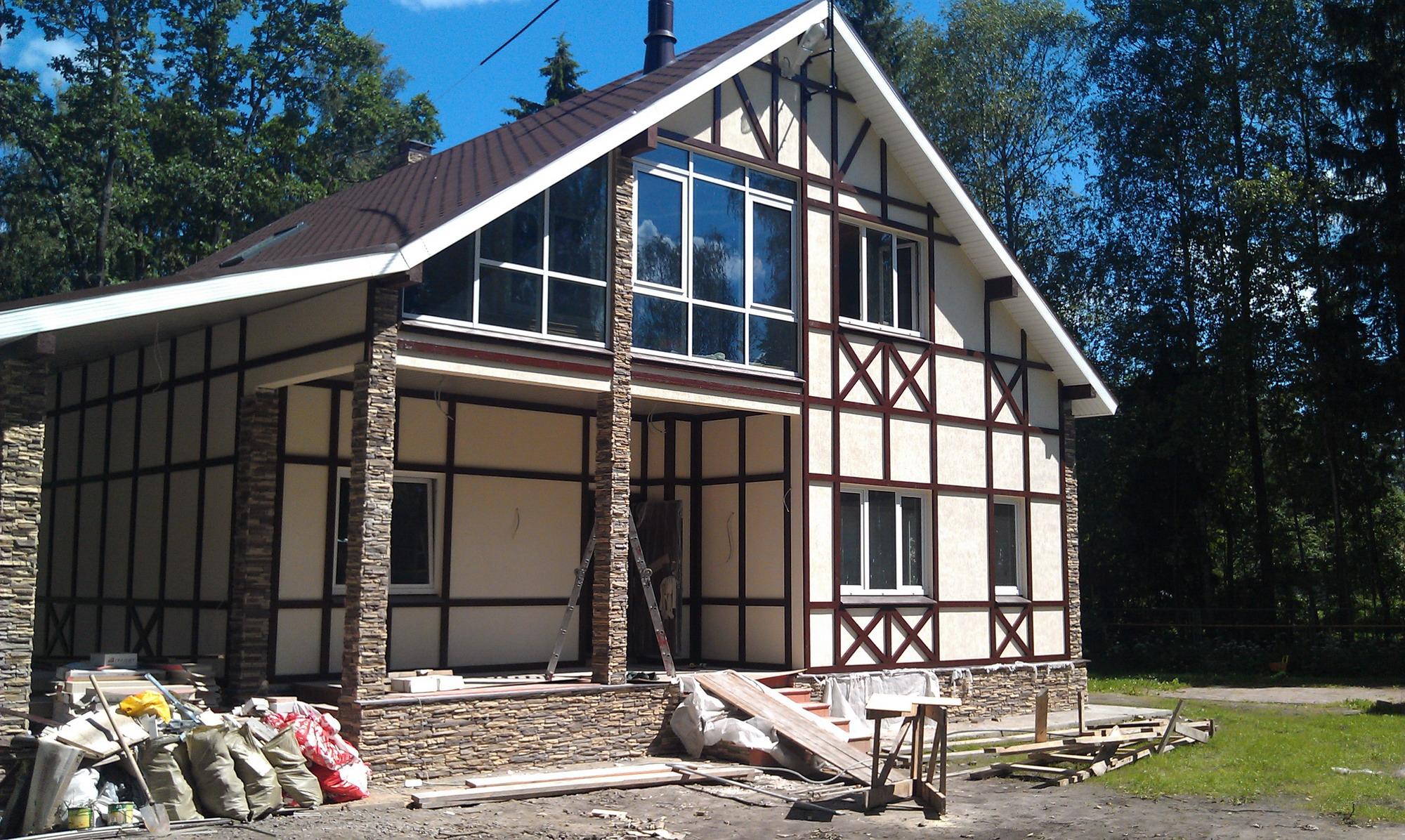Бюджетное строение дома из СИП панелей