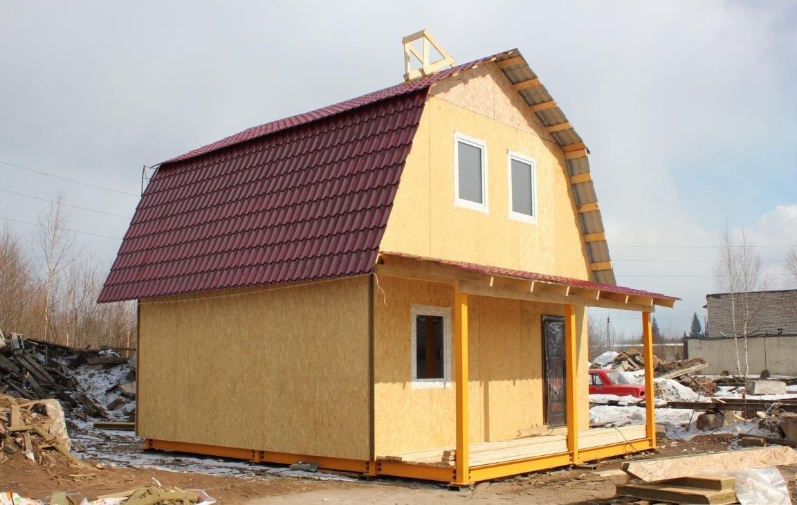 Быстрое возведение дома из СИП панелей