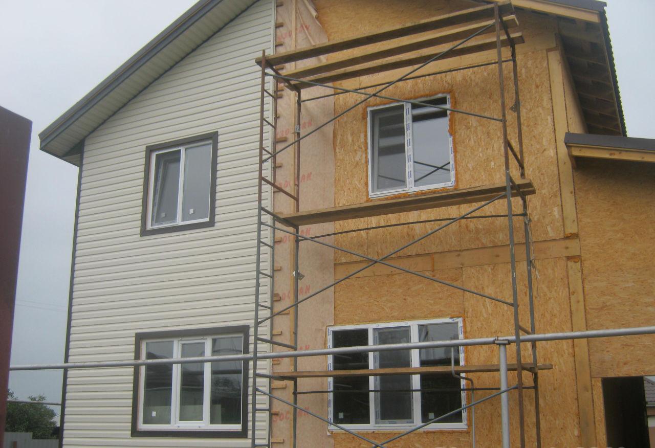 Стойкий частный дом из СИП панелей