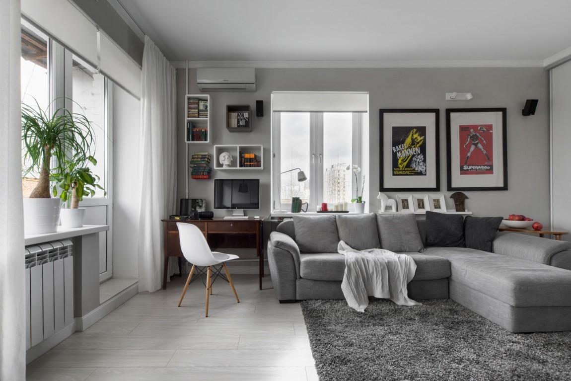 Дизайн двухкомнатной квартиры в хрущевке: идеи по перепланировке