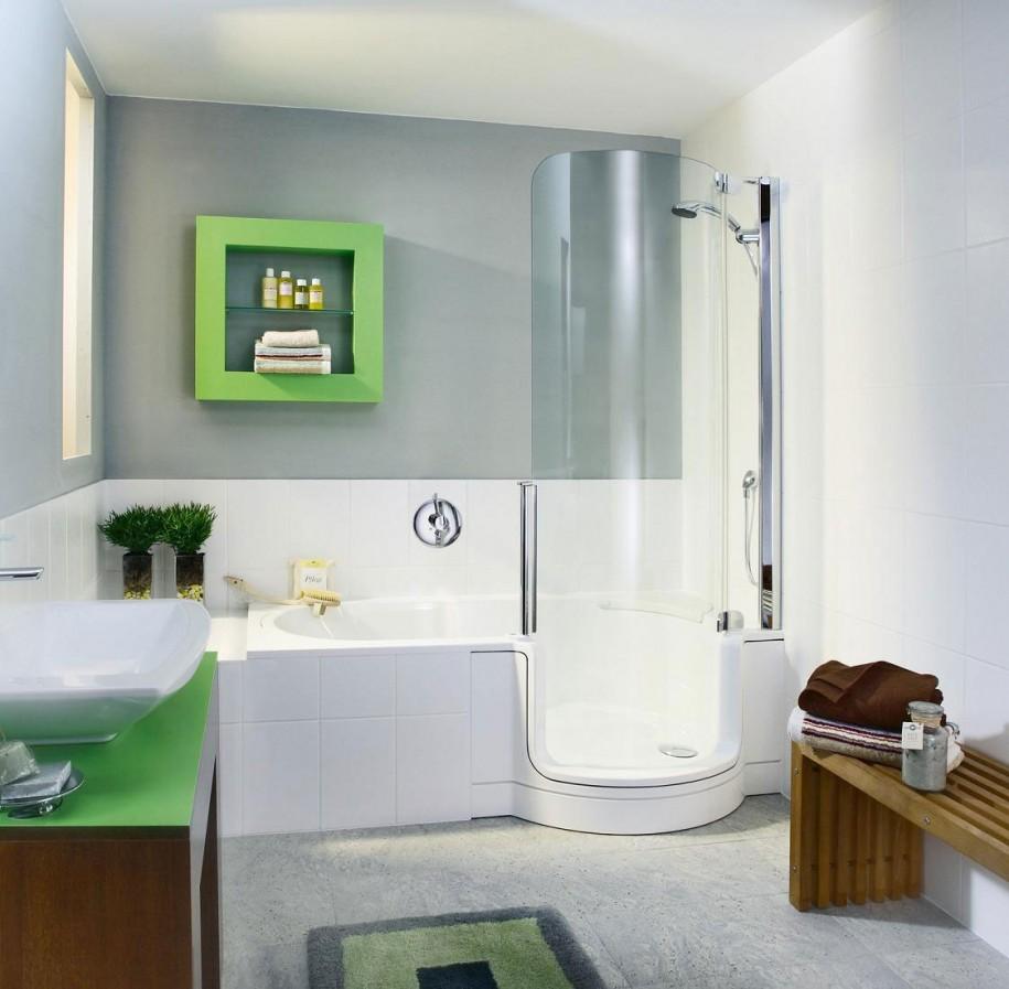 Настоящий мастер своего дела способен превратить крохотную ванную комнатку в шедевр