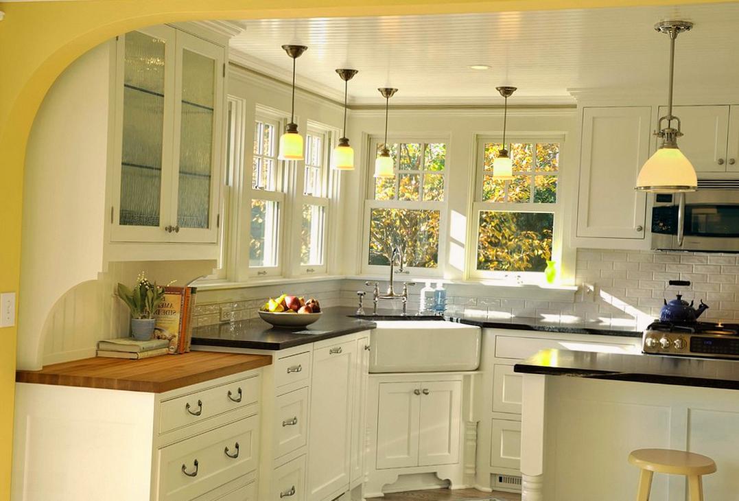 Соблюдая несколько правил, в маленькой кухне можно создать красивый интерьер