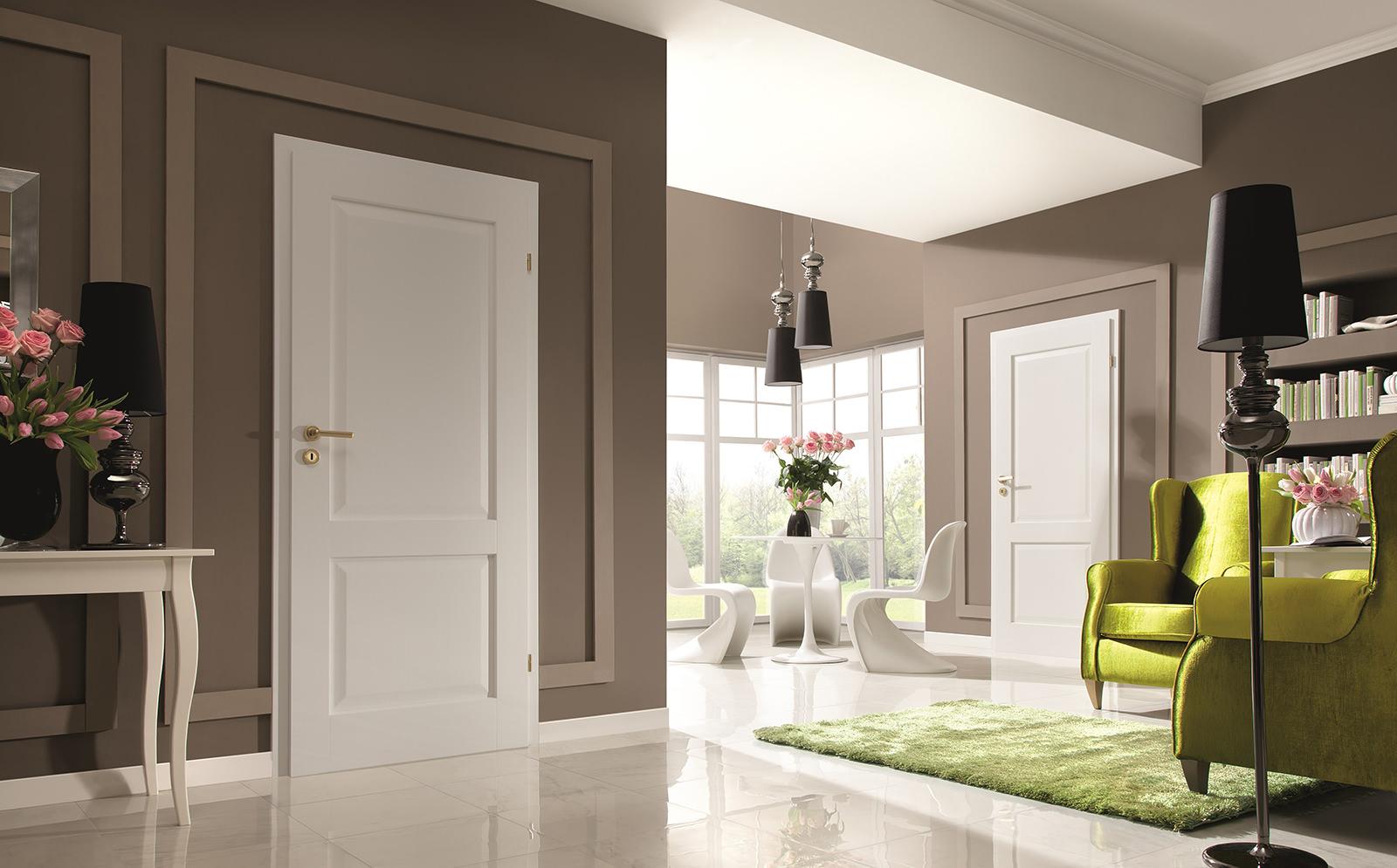 Использование белого плинтуса в интерьере в стиле минимализм