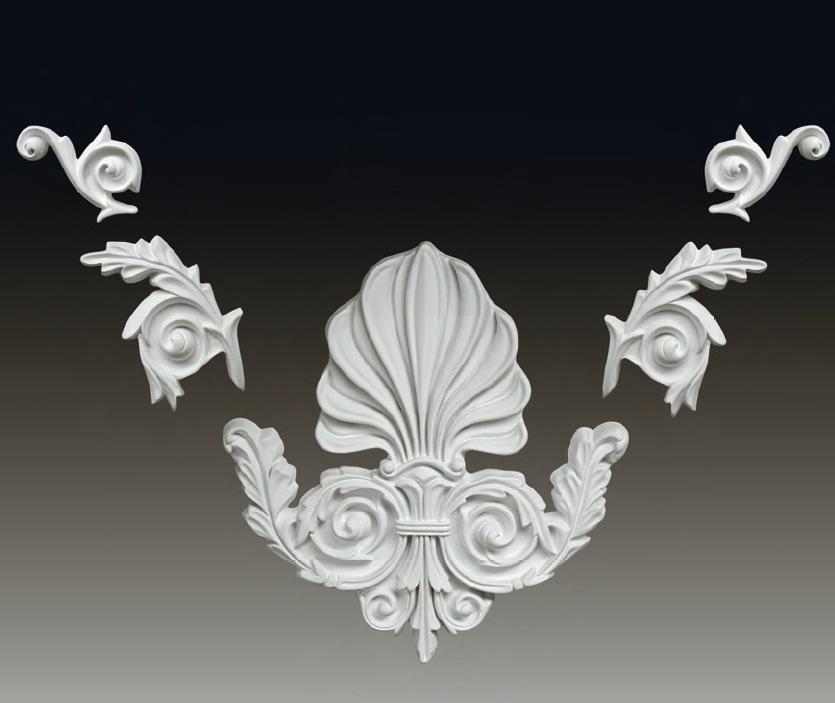 Декоративный элемент из полиуретана