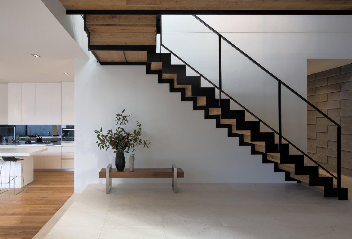 Внутренняя отделка дома из пеноблоков в стиле лофт