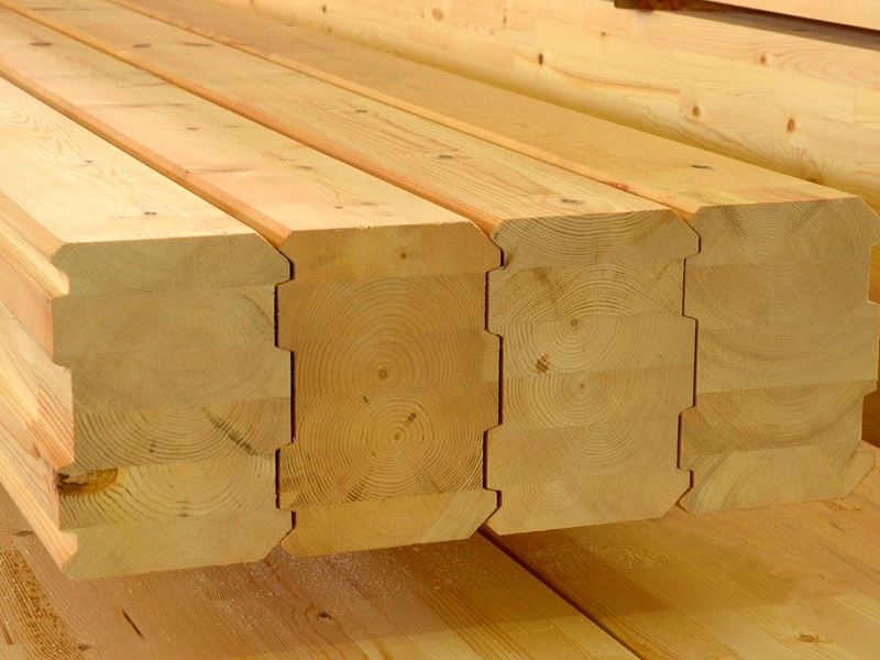 Клееный брус для строительства дома