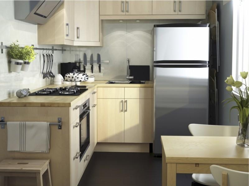 Современная мебель для маленькой кухни