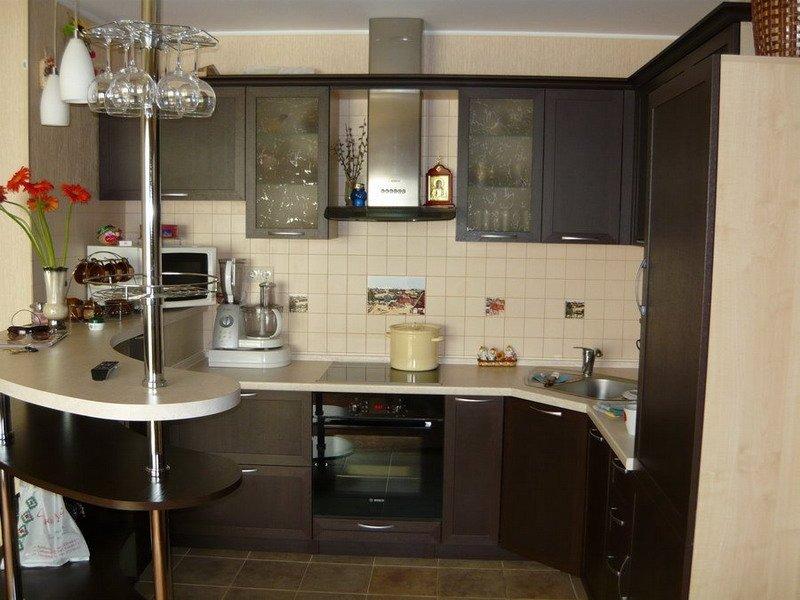Правильный выбор мебели для маленькой кухни