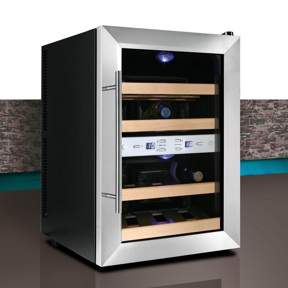 Климатические холодильники не очень хорошо подходят для длительного хранения вина