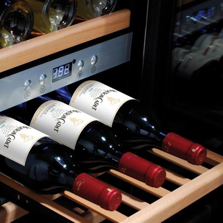Некоторые винные шкафы оборудованы вентиляторами