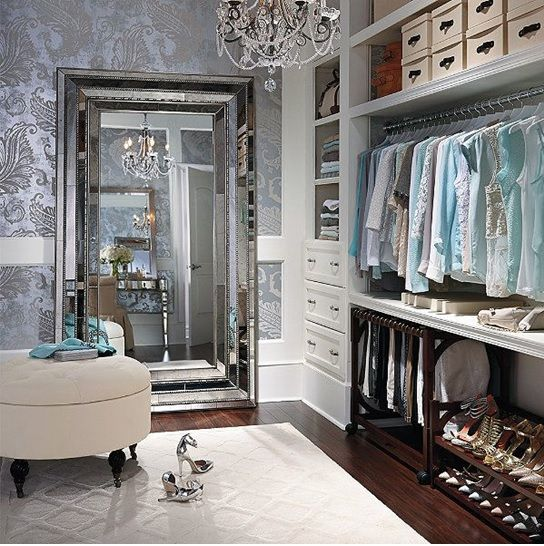 Дизайн небольшого гардероба