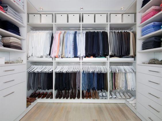 Идеальная гардеробная комната
