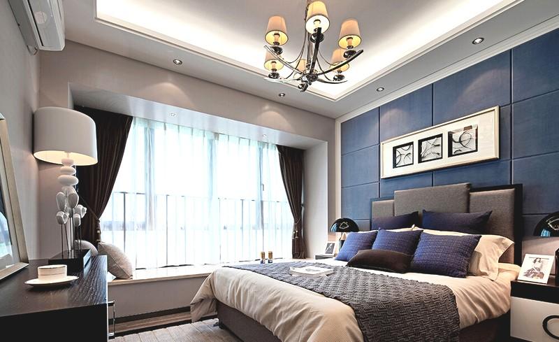 Современный минималистичный дизайн спальни