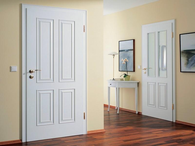 Фото белых дверей