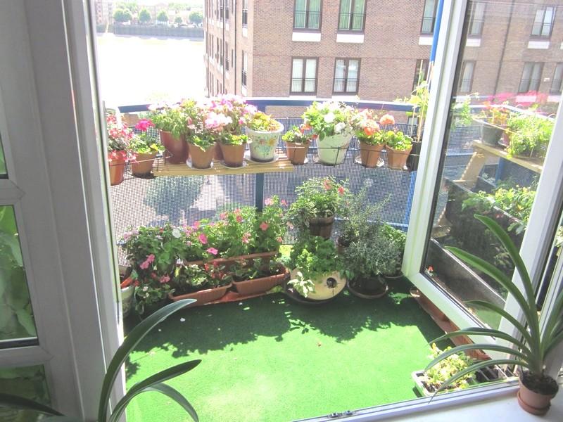 идея оформления балкона в квартире