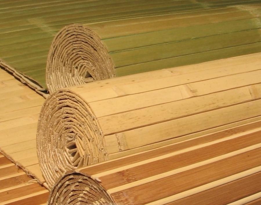 Использование бамбуковых обоев в интерьере: советы, фото