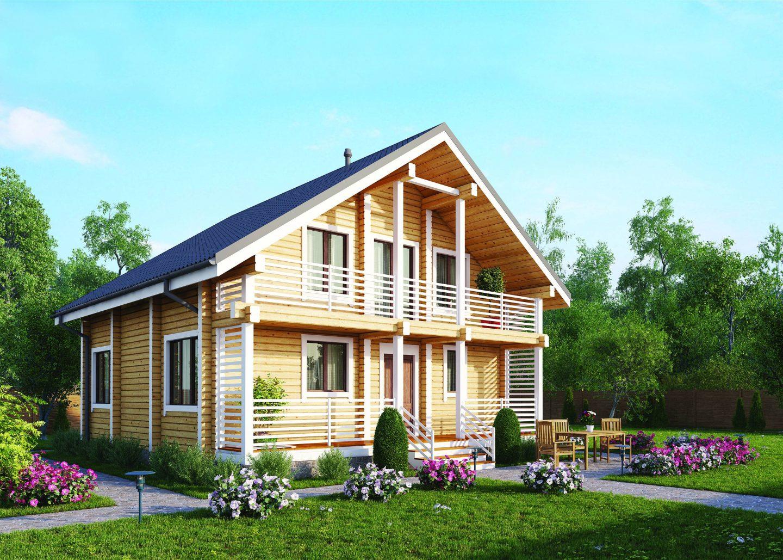 Как оформить интерьер деревянного дома внутри, варианты с фото