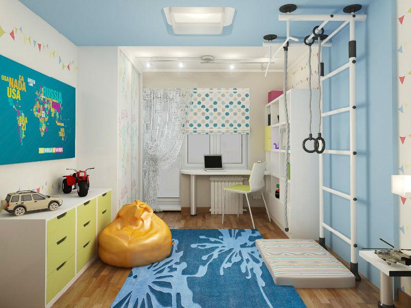 Детские комнаты для мальчиков: особенности дизайна интерьера, фото