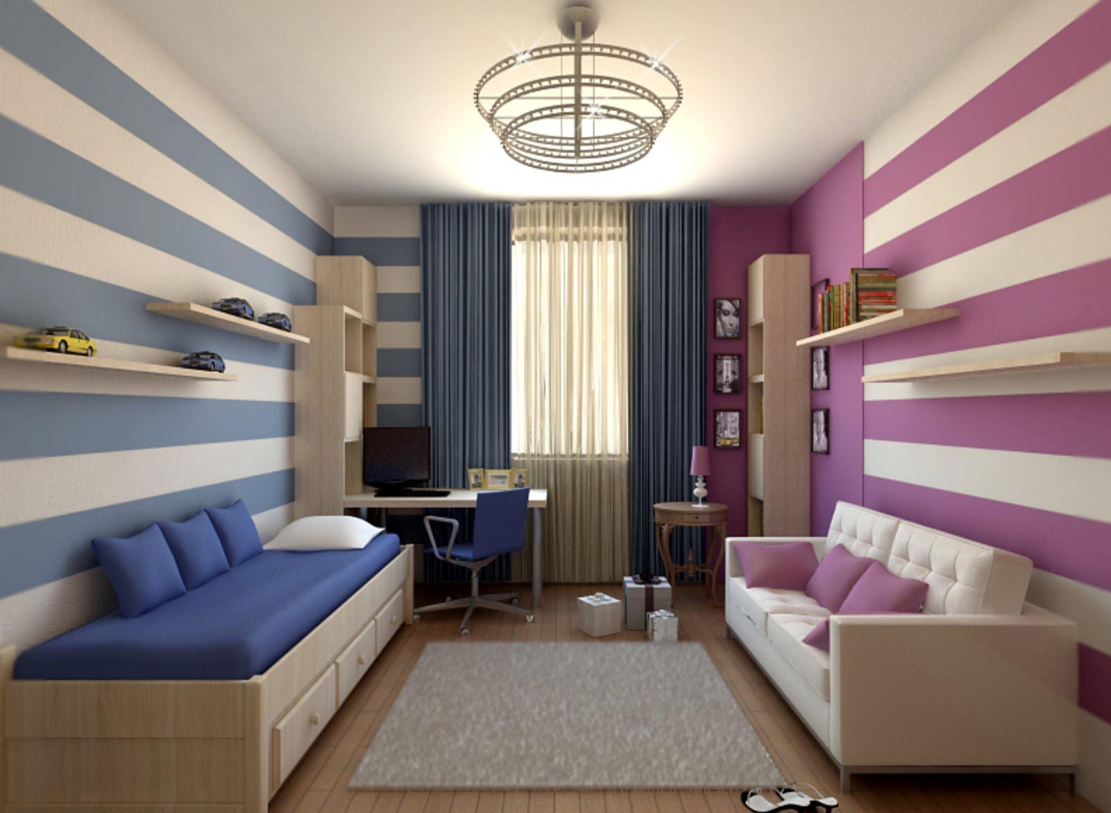 Дизайн интерьера детской комнаты для мальчика и девочки