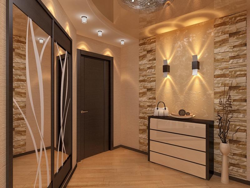 Интерьер коридора в квартире: функциональные решения, советы, фото