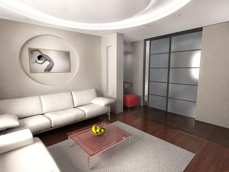 Современный дизайн интерьера зала в квартире: советы по оформлению с фото