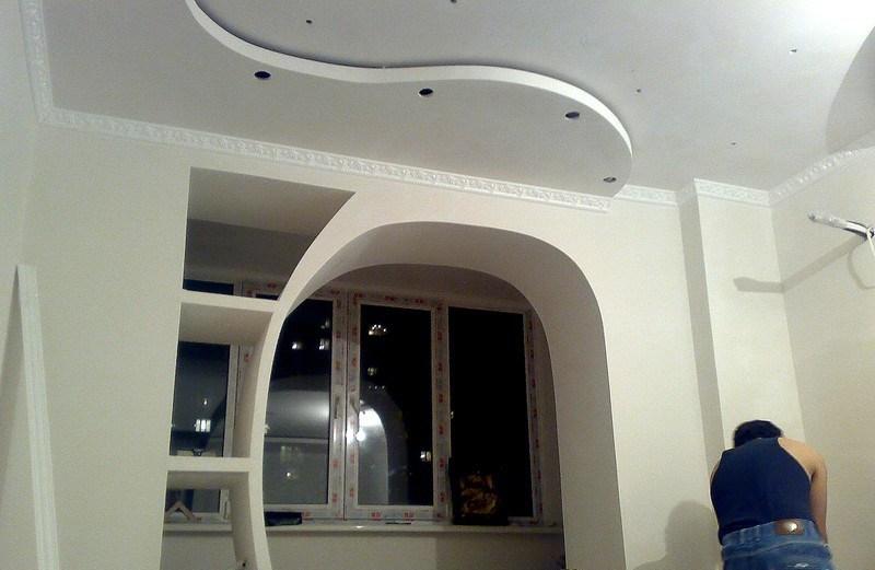 В наше время можно осуществить любую фантазию при изготовлении арки