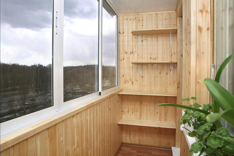 Идеи и фото по отделке небольшого балкона