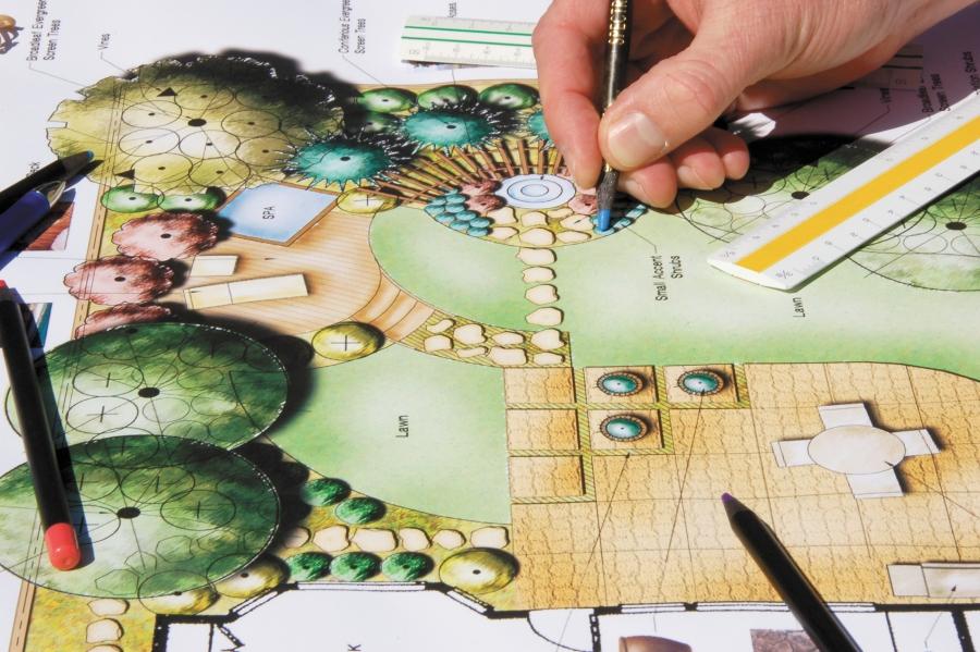 Планирование огорода на бумаге